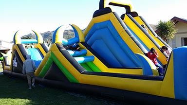 the ultimate blow up playground